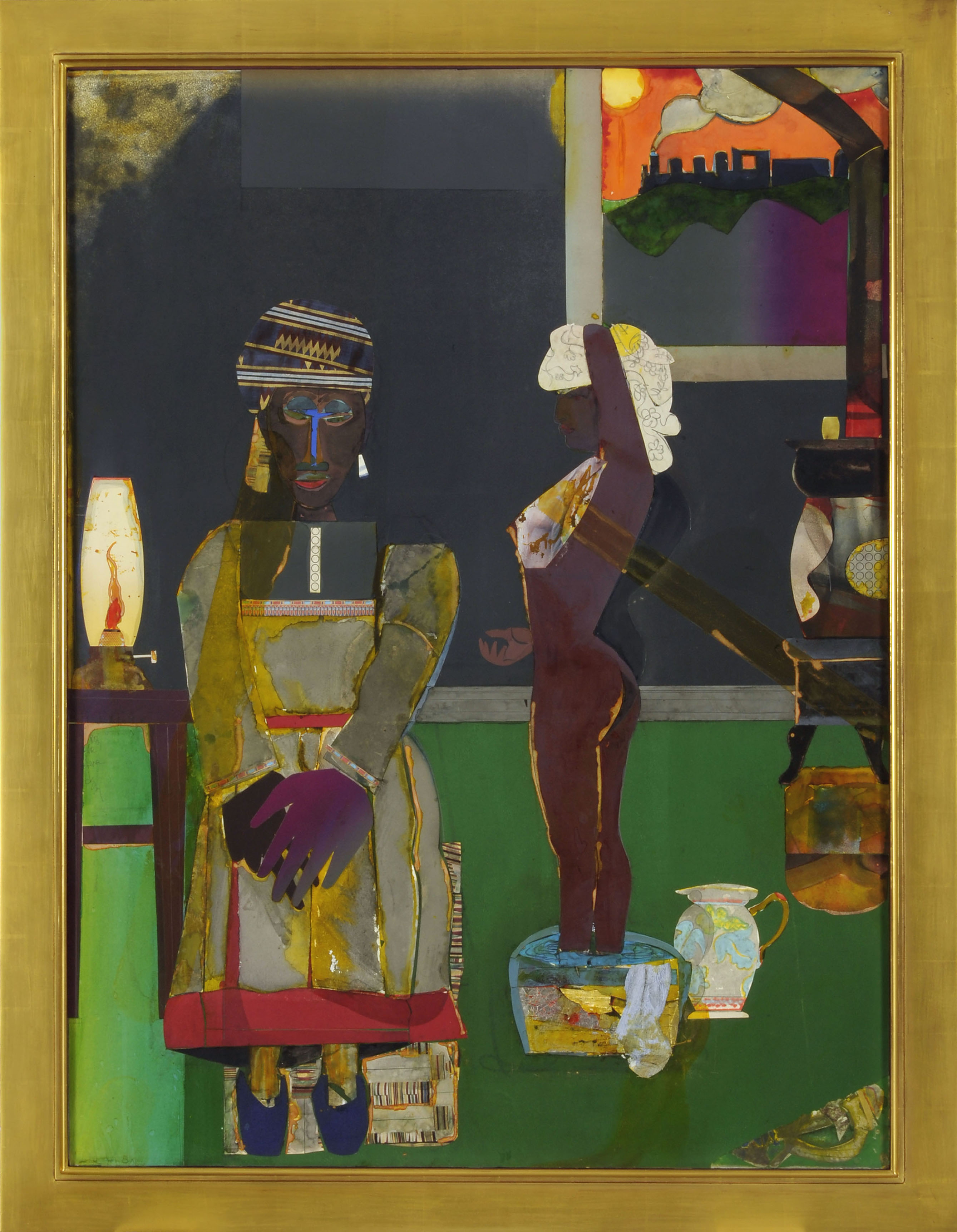 Romare Bearden - Prelude to Farewell